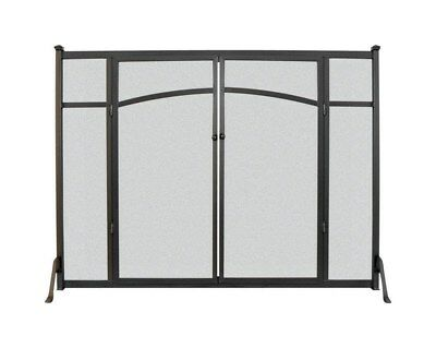 "Panacea Flat Panel Screen With Doors 31 "" H X 39 "" W"