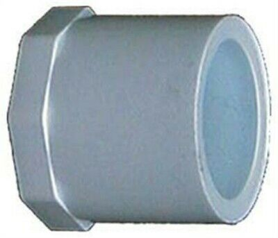 "Charlotte Pipe Plug Sch 40 Pvc 1/2 "" Spg White Pack of 50"