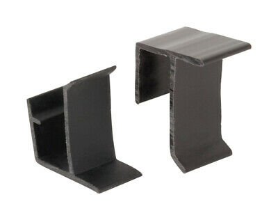 Prime-Line Retainer Clips Black Carded