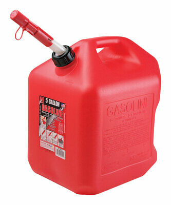Midwest Can Gas Can 5 Gal Meets Carb And Epa Requirements Plastic