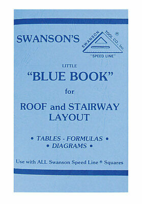 Swanson Blue Book For Roof & Stairway Layout Clear