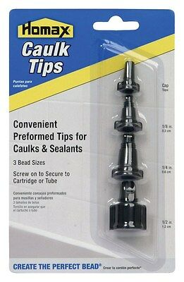Homax Caulk Tips 1/8 ""