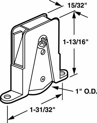 Prime-Line Screen Door Roller Assembly Steel