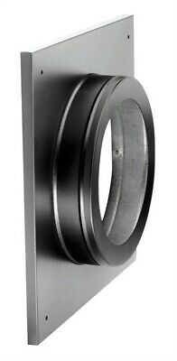 """Simpson Duravent Round Support And Thimble Cover Direct Vent 6-5/8 """" Black"""