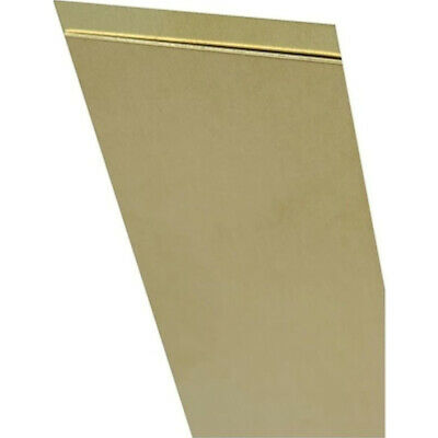 "K&S Strip 12"" L X 1/4""W X 0.093"" H Brass Carded"