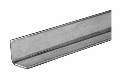 """Boltmaster Weldable Steel Angle 3/4"""" X 3/4"""" X 36"""" Black Pack of 5"""