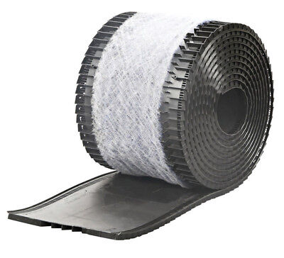 Air Vent Rolled Shingle Over Ridge Vent With Filter 28' 12 Sq. In. Net Free Area