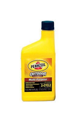 Pennzoil Premium Outboard & Multi-Purpose 2-Cycle 16 Oz. Pack of 24