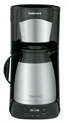 Cuisinart Programmable Thermal Coffeemaker 12 Cup Black & Stainless Steel