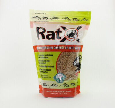 RatX Rodent Killer For Rats Granules 48 oz. 1 pk