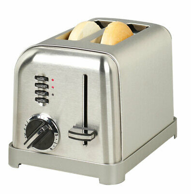 Cuisinart Toaster 2 Slice Brushed Stainless Steel