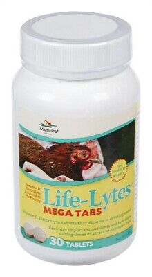 Life Lytes 30 tablet Vitamins and Electrolytes For Poultry