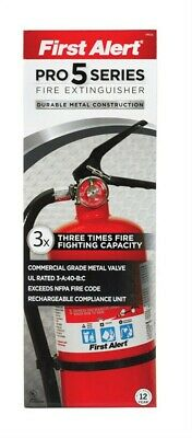 First Alert Fire Extinguisher 5 Lb. U.S. Coast Guard Approved Pack of 2