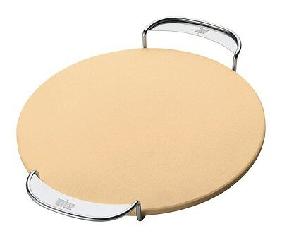 Weber Pizza Stone Steel 14""