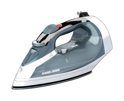B&D Steam Iron With Cord Reel Smart Steam