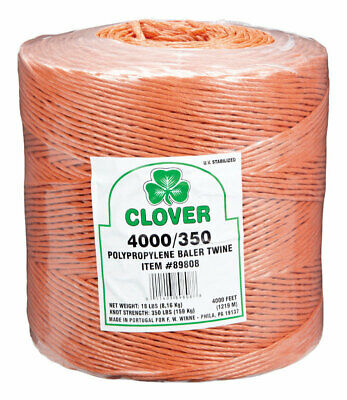 CLOVER POLY BALER Twine (2x4500ft pack) 9000ft JMK9000P square bale