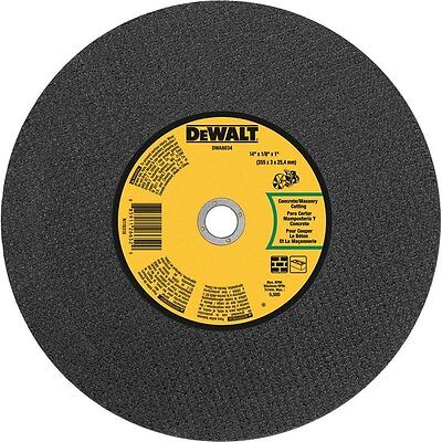 "Dewalt Cut-Off Wheel 14 ""X1/8 ""X1 "" Arbor 1 """