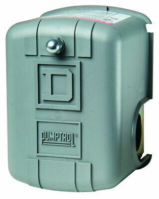 Square D Pressure Switch 80-100 Psi 80-100 Psi