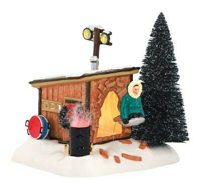 Department 56 Christmas Vacation Griswold Sled Shack Porcelain Village House Mul