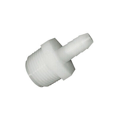 """Anderson Hose Adapter Mpt X Barb 1/2 """" X 1/2 """" Nylon Pack of 5"""