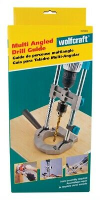 "Wolfcraft Drill Guide 3/8 "" Fits All 1/4 """
