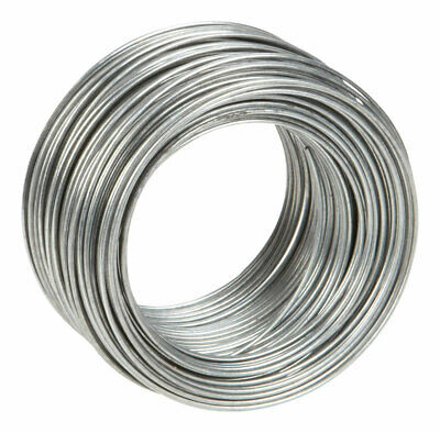 Hillman Wire Clothesline 100' 18 Ga Galvanized 115 Lb Limit Boxed Pack of 12