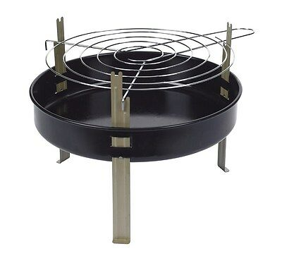 "Marsh Allen Table Top Charcoal Grill 12"" D X 8"" H 95 Sq. In."
