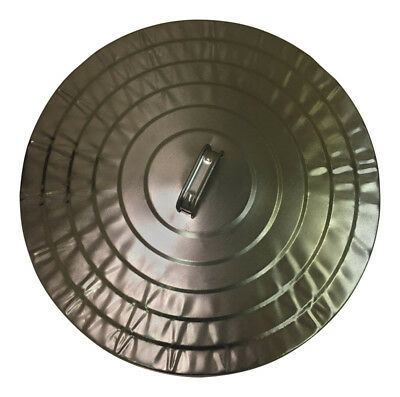 Behrens Lid For Steel Garbage Cans 20 Gal Galvanized Sheet Steel