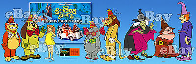 NEW!! EXTRA LARGE! BANANA SPLITS HOCUS POCUS Panoramic Photo Print HANNA BARBERA