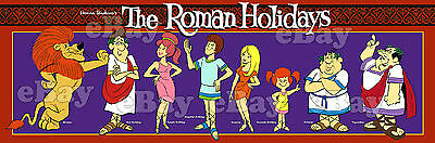 NEW!! EXTRA LARGE! ROMAN HOLIDAYS Panoramic Photo Print HANNA BARBERA