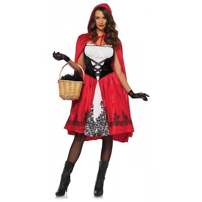 Adult Little Red Riding Hood Costume Halloween Fancy Dress