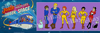 EXTRA LARGE JOSIE AND THE PUSSYCATS IN SPACE Panoramic Photo Print HANNA BARBERA