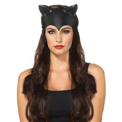 Cat Mask Adult Catwoman Halloween Costume Fancy Dress