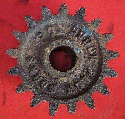 Burch Plow Works Tru-Blue Corn & Bean Planter 17 Tooth Bevel Hopper Drive Gear