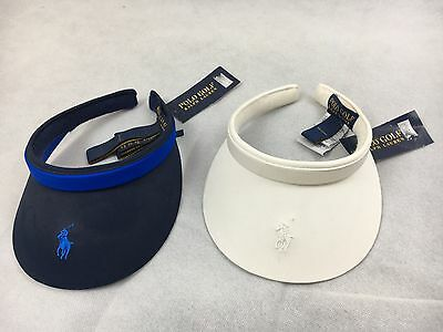 Ralph Lauren Polo Golf Hampton Ladies Golf Clip On Visor RRP£50 - 1st Class Post