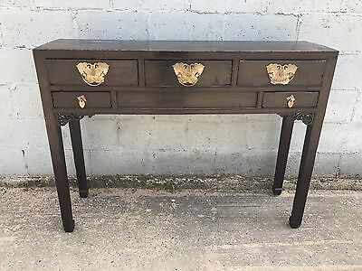 Stunning, Antique Chinese Altar/console Table, Circa 1860's, Elm Wood