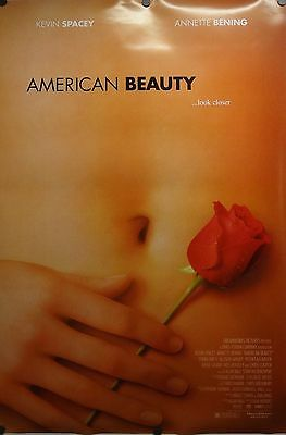 American Beauty 27x40 DS One Sheet Movie Poster 1999