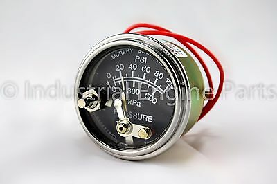 20P7-100 Oil Pressure Guage with Lockout 0-100 PSI (05703207)