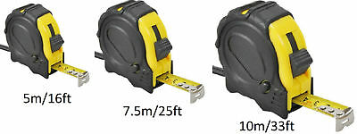Tape measure with Automatic retractor double Operation Measure 3, 5, 7.5 and 10m