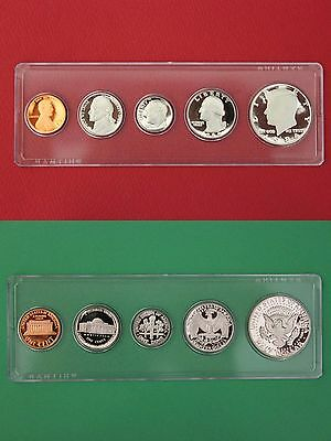 1986 P D S Proof /& Mint Sets In Snap Tight Display Cases Combined Shipping