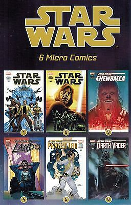 STAR WARS Micro Comic 2016: Complete Set of 24 Items (see description)