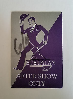 RaRe (1995) BOB DYLAN aftershow All Access Backstage PASSES (2)
