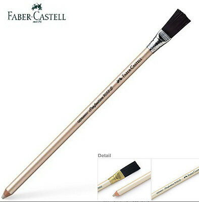 New Faber Castell Eraser pencil PERFECTION 7058 with brush 1ea_Latex-free