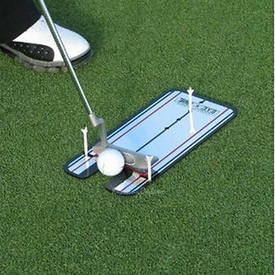 Golf Putting Mirror Alignment Practice Training Aids Swing Trainer Eye Line