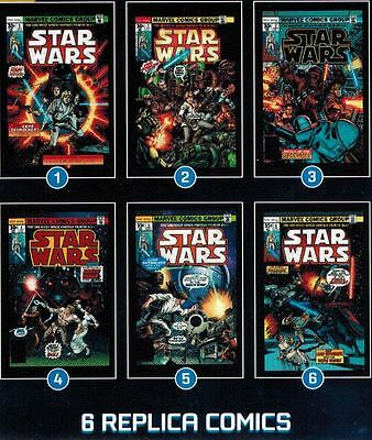 STAR WARS Micro Comic 2015: Set of 13 Items Items (see description)