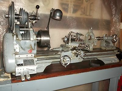 Atlas 10 Inch Lathe , With Quick Change Gear Box.