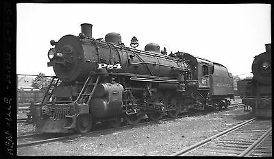 "New Haven 4-6-2 in Readville MA - 1950  - B&W 2 1/4"" x 3 1/4"" original negative"