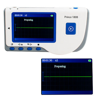 Handscan Handheld LCD Screen ECG EKG  Heart Rate recorder Holter Monitor FDA
