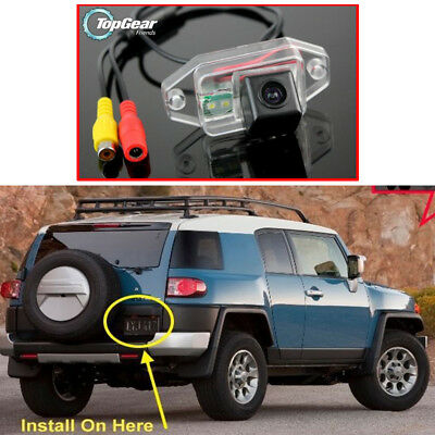 For TOYOTA FJ Cruiser Land Cruiser LC 100 Back Up Car Parking Rear View Camera
