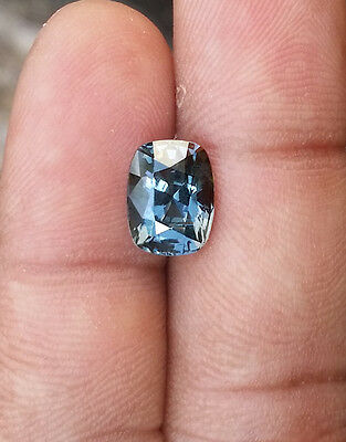 Stunning Blue Spinel 3.50 CT / Cushion  /100% Clean /Top luster /Unheated